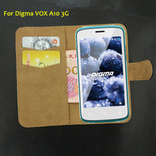 6 Colors Super!! Digma VOX A10 3G Case Flip Fashion Customize Leather Exclusive Protective 100% Special Phone Cover+Tracking(China)