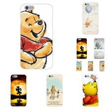 Soft TPU Silicon Hot Selling For Samsung Galaxy A3 A5 A7 J1 J2 J3 J5 J7 2015 2016 2017 S8 Plus Winnie Pooh Lovely Quotes