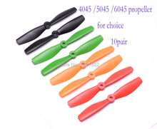"HQ Propellers Prop 4"" 5"" 6"" 5045 4045 6045 X 20 10 Pairs BULLNOSE Props CW CCW 250 Quadcopter MiniQuad Copter GemFan FPV"