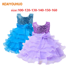 New Christmas Girls Dress Fashion Style Dresses Kids Clothes Children's Clothing Party new year Costume for age 2-10 yrs