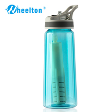 2017 Portable Water Filtration Bottle for outdoor water purifer offer Anion alkaline water rich oxygen freeshipping(China)
