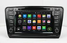 Car Pure Android 5.1.1 1024*600 1 Din Car DVD gps For SKODA Octavia 2014 with WIFI 3G GPS Capacitive screen car radio 1.6Ghz