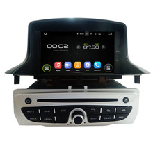 Quad Core Android 5.1 Fit RENAULT Megane III Fluence 2004 - 2014 1015 2016Car DVD Player Navigation GPS Radio(China)