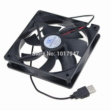 1Pieces Gdstime DC 5V USB 1500RPM 0.2amp 120mmx25mm 120mm Fan PC Computer Case Cooling Cooler