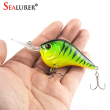 Lifelike 3D Eyes Fishing Lure 9.5CM 11G High Quality Treble hook Artificial Hard Bait Treble Hook Crankbait 5 Colors Available(China)