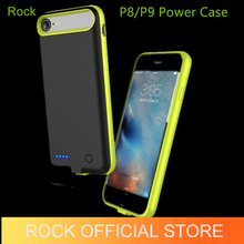 Rock Power Battery Case for iPhone 7 7 Plus 2000Mah 2800Mah Portable Power Bank Rechargable Pack Backup External Cover