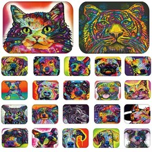 1pcs 40*60cm Cats Tiger Owl pattern Anti-Slip Suede Carpet Door mats doormats Outdoor Kitchen Living room Floor Mat Rug 48163