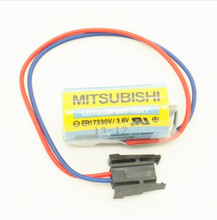 4pcs/Lot Original NEW ER17330V 3.6V PLC Battery Batteries For Mitsubishi Servo A6BAT PLC Battery