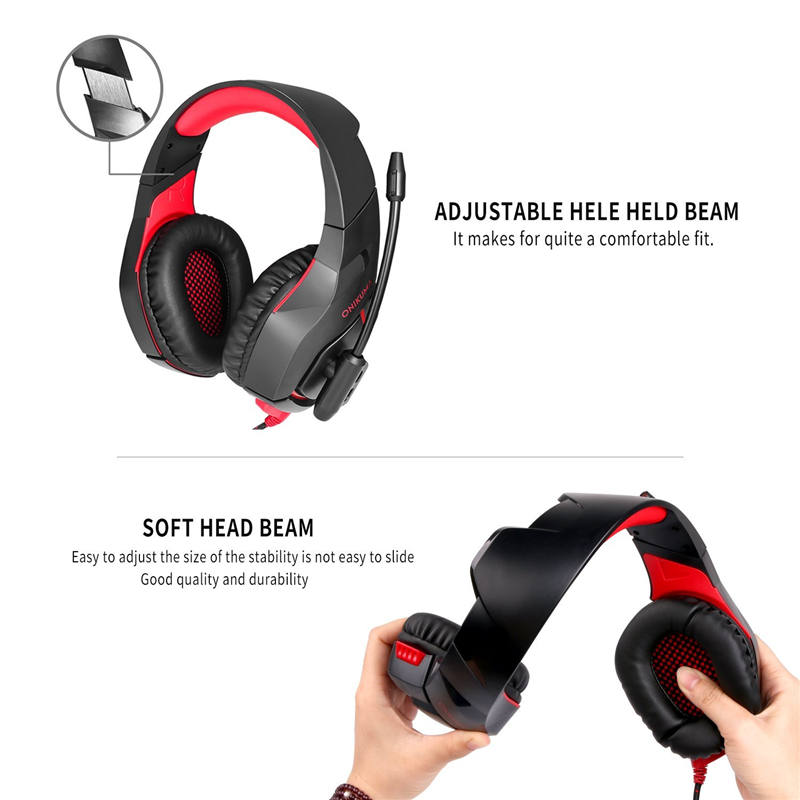 Professional Headset Gaming Earphone and Headphone For Computer With Microphone Mic Led Light PC casque Gaming Gamer Headset