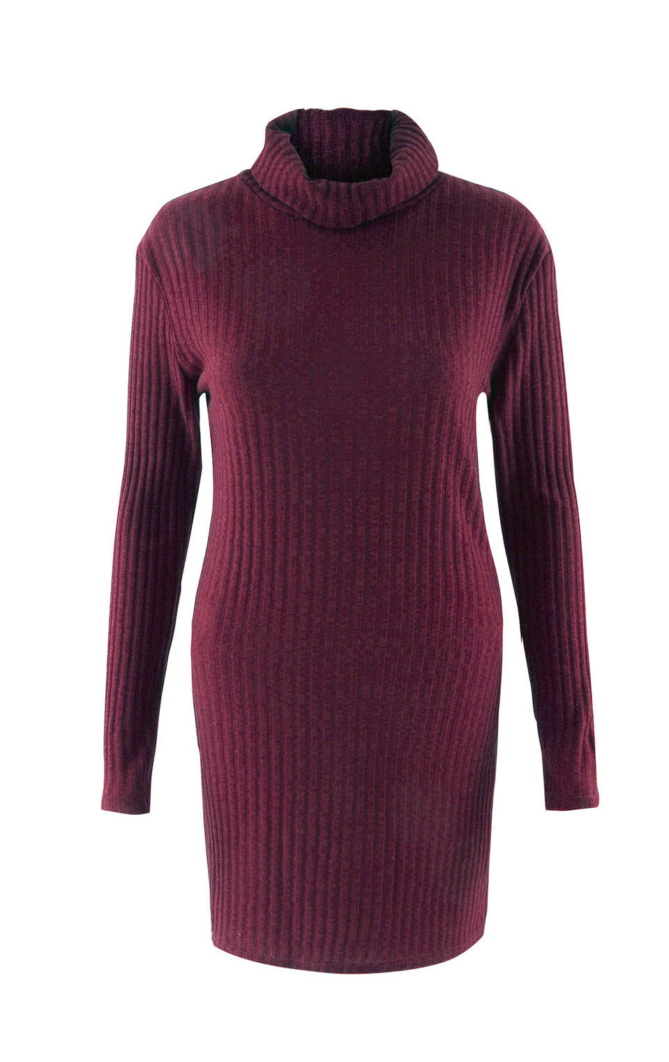 Turtleneck Long knitted pullover sweater, Women's Jumper, Casual Sweater 37