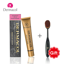 100% Original Dermacol Base Primer Makeup Bursh Corrector Concealer Cream Makeup Base Tatoo Consealer Foundation Contour Palette