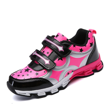 2017 Hard-Wearing Sport Shoes New Arrival Kids Athletic Shoes Size 31-36 Walking Sneakers Kids Brand Rubber Sneakers Boys Girls