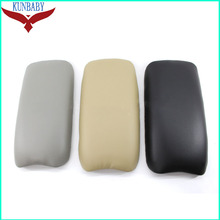 KUNBABY For Honda OEM Leather Auto Center Console Armrest Pads Cover Arm Rest Box For CIVIC 06-09 Car Styling Black/Gray/Beige