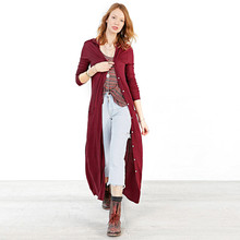 Fashion spring V-neck with a hood long design double pocket single breasted thin female trench free shipping(China)