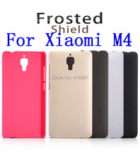 NILLKIN Super Frosted Shield Case For MIUI Xiaomi Mi4/M4/Xiaomi4/Xiaomi 4 With Screen Protector + Retailed Package +FreeShipping(China)