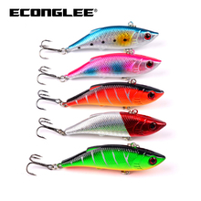 8cm Classic Plastic Bait VIB Road Bait 9.7g Bait Ebay Quick Sell Electricity Business Fishing Gear Explosion DXV001