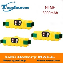 3x14.4V 3000mAh Ni-MH Battery for iRobot Roomba Vacuum Cleaner for 500 560 530 510 562 550 570 581 610 650 790 780 532 760 770(China)