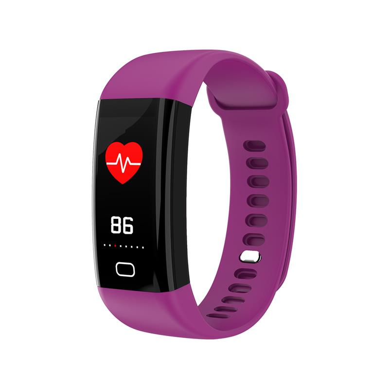 2018 Smart bracelet heart rate monitor Blood Pressure Fitness Tracker smartband sport watch for ios android PK xiaomi mi band 2 (2)