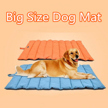 Waterproof Dog Mat 110*68 cm Pet Dog Cage Kennel Mat Warm Soft Big-Size Large Dog Bed Large Dog House Mat Blanket All Seasons(China)