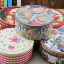 5pcs/lot Wholesale Christmas Series Sweetmeats Tin Case Likable Trinket Box