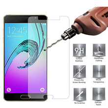 2.5D 9H Screen Protector Tempered Glass Case For Samsung Galaxy J3 J5 J7 A3 A5 A7 2015 J1 mini J1 J3 J5 J7 A3 A5 A7 2016 Cover