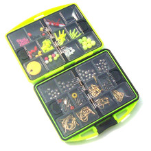 Y062 Free Shipping Value angeles fishing accessories  quad box Angeles fishing box small parts Fishing  tackle box