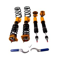 24 Ways Adj. Coilover Coilovers Suspension Kit for Ford Mustang 4th 94-04 Front Rear Shock Absorber Struts(China)