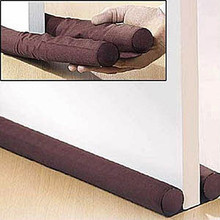 Practical Door Window Stopper Dodger Dust Resisted Safety Protector Energy Saving Brown(China)