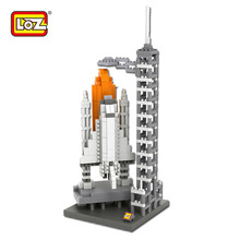 LOZ Space Shuttle Building Blocks World Famous Architecture Mini Bricks DIY Toys Present Gift USA