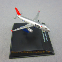 FANNIYA 7cm Metal Air American NWA Northwest Airlines Airbus 320 A320 Airplane Model Airways Plane Model w Stand Aircraft  Gift