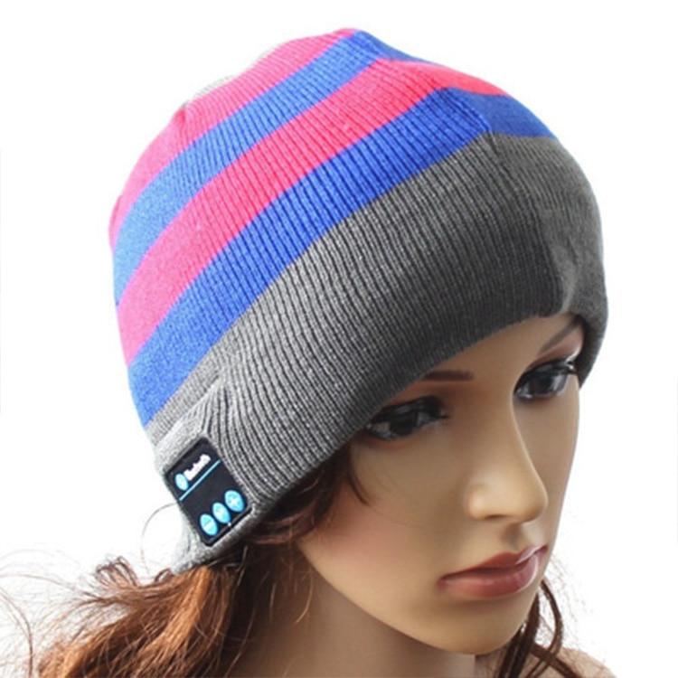 TTLIFE  Soft Warm Winter Smart Wireless Bluetooth Headset Headphone Hat For iPhone Phone Sport Handsfree Stereo Music Hat Cap<br><br>Aliexpress