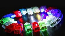 Fun Finger Lights LED Beams Laser Rings Raves Neon Glow Lamps party birthday Chistmas Disco props festive evernt supplies gift(China)