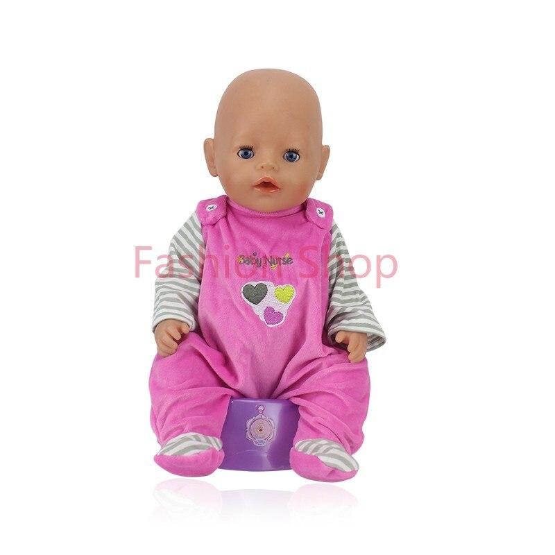 Doll Accessories, Meired Doll Clothes Wear fit 43cm Baby Born zapf,  Children best  Birthday Gift<br><br>Aliexpress