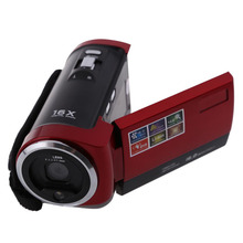 Red HD 720P 16MP Digital Video Camcorder Camera DV 2.7 inch LCD 16x ZOOM DV Camera Video Camera TV out