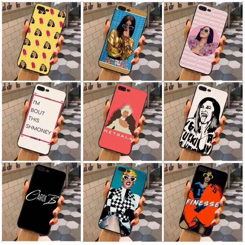 Maiyaca Cardi B New Luxury Fashion Cell Phone Case For Iphone X