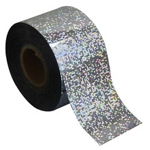 Manicure1 Roll Nail Art Transfer Craft Foil Glitter Silver Color Styling Fashion DIY Nail Sticker Tip Nail Tool Supplier WY241(China)