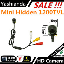 Miniature closed-circuit security monitoring video CCTV camera model plane special aerial camera hd 1000 TVL with audio