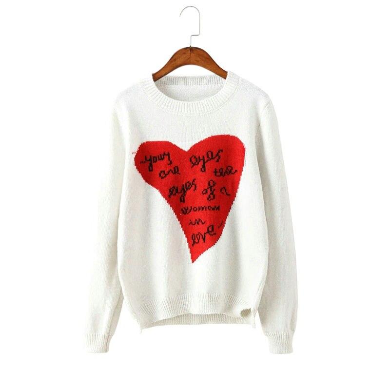 Пуловер С Сердечками С Доставкой