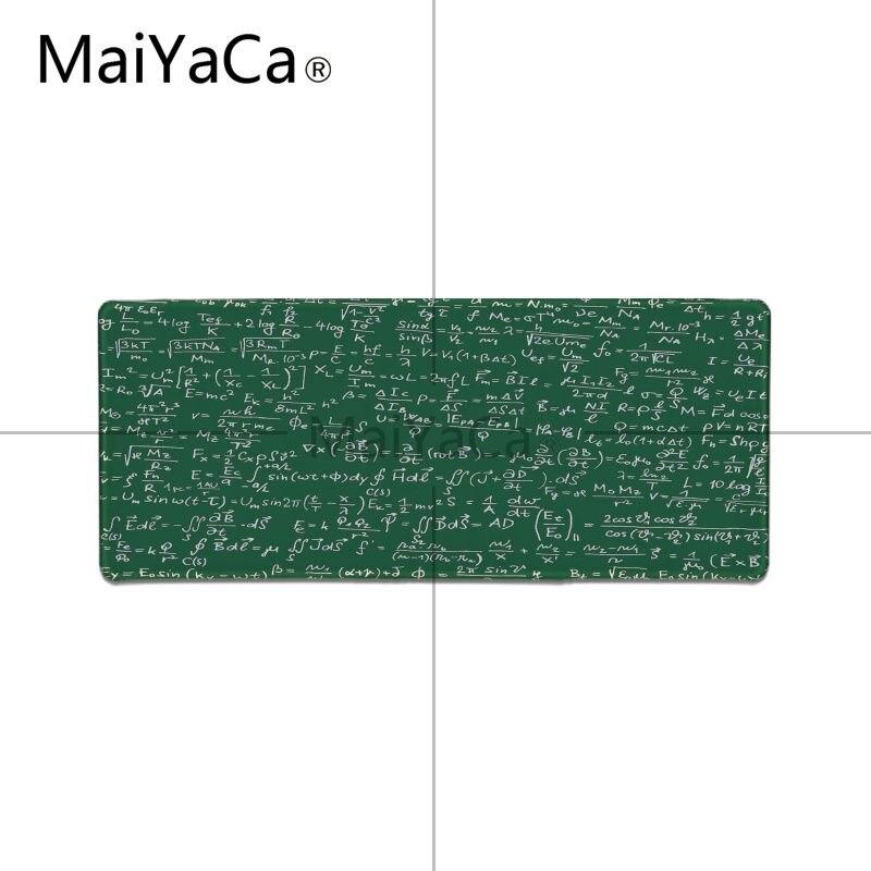 MaiYaCa Boy Gift Pad Geometric formula mouse pad gamer play mats Large Gaming Mouse Pad Lockedge Mouse Mat Keyboard Pad 12