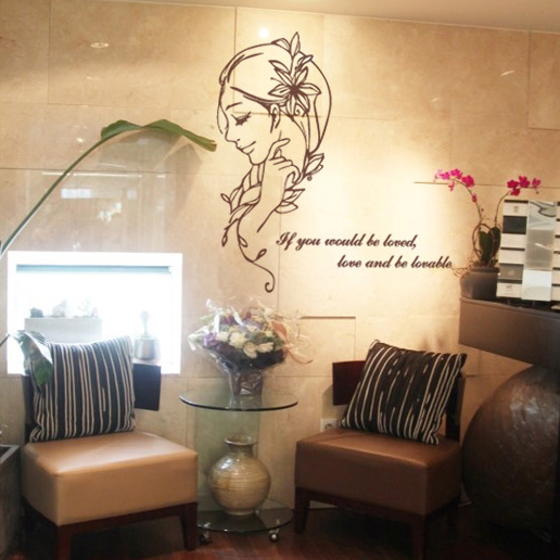 Salon Wall Decor compare prices on decor nail salon- online shopping/buy low price