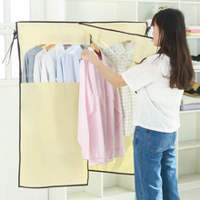 Garment Suit Coat Dust Cover Protector Wardrobe Storage Bag Garment Bag Non woven clothes dust cover Household Clothes Organizer