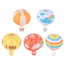 5 styles Party Decoraiton 12 inch Air Balloon Paper Lantern Home Decoration Birthday Party Decor