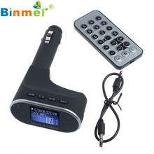 Bluetooth Car Kit MP3 Player FM Trasmettitore Modulator Remote USB SD For iPhone 6/6 Plus For Samsung Galaxy S6/S6 Edge