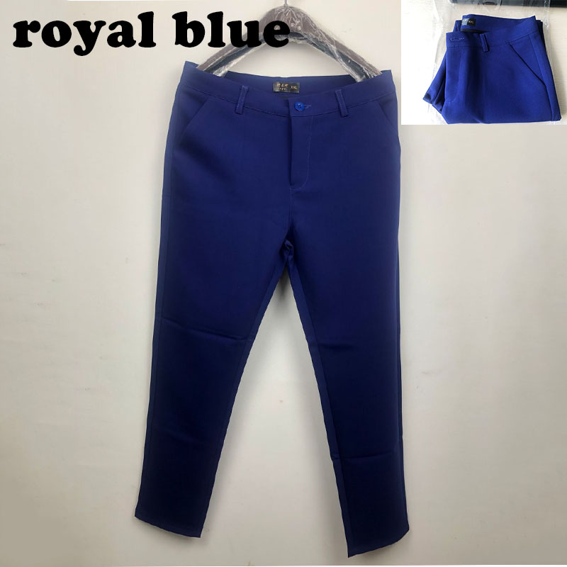 18 NEW women's casual OL office Pencil Trousers Girls's cute 12 colour Slim Stretch Pants fashion Candy Jeans Pencil Trousers 3