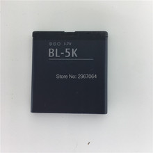 For NOKIA BL-5K battery 1200mAh Mobile phone battery for NOKIA C7 N85 N86 X7 C7-00 Long standby time