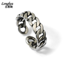 Fashion male 925 silver ring personality opening ring pinky ring groining pattern,fashion girls/boys jewelry,metal accessorries