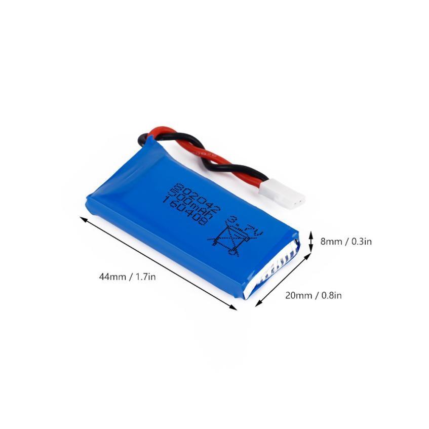 New 3.7V 500mAh Li-Po Battery for Hubsan X4 H107 H107L H107C H107D V252 JXD385 Mini Drone battery Drone parts<br><br>Aliexpress