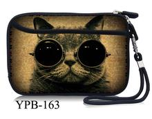 "Cool Cat Portable 2.5"" External USB Hard Drive Disk Carry Case Cover Pouch Bag For PC Laptop Dropship High Quality"