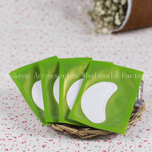 Eyelash Extension Eye Pads 50pcs Lash Paper Patches Eye Tips Sticker Wraps Make Up Tools Best Quality Eyelash Pad(China)