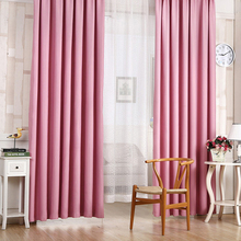 6 Solid Colors Blackout Curtains for Bed Room Living Room Curtains Drapes Curtains Blackout 100cm x 210cm